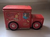 Vintage Mars Confectionery Collectible Tin Truck Container