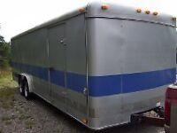 24 foot car hauler