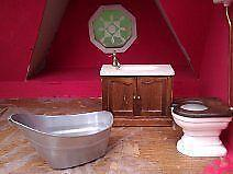 Lovely Dolls House Bathroom Furniture