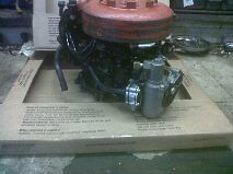 mercury 4hp   4.5 hp  power head fully dressed 1980 -85