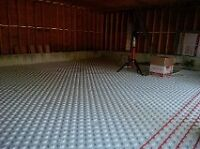 concrete floor finisher required