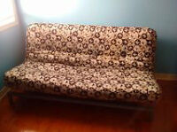 FUTON- Great condition !!! $120 OR BEST OFFER!!
