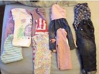 Bundle of girls clothes aged aged 1-2 years
