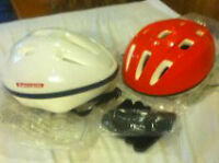 2 Bike helmets for sale, mint condition
