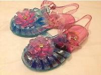 Disney frozen jelly shoes size 9