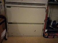 Office Steel Filing Cabinet 2 Drawer with locking device