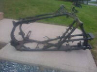 2009 HONDA 450ER FRAME AND SUBFRAME