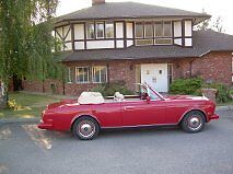 1990 Rolls-Royce Corniche Convertible In Kelowna Campbell River Comox Valley Area image 1