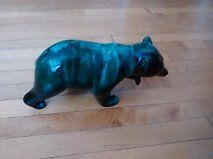 Blue Mountain Pottery and Bear of unknown origin