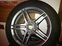 Mercedes GLK Snow Tires and Rims for Sale 235/55/R18