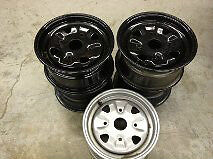 ATV ORV ALUMINUM 4 ON 137X12 RIM SILVER OR BLACK
