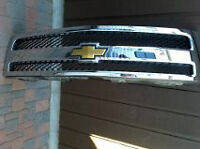 New Chevrolet Grill in the box and door handles (Black)