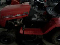 14.5  42'' mastercraft lawntractor   $225.00