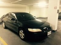 1999 Honda Accord Coupe (2 door) selling as is