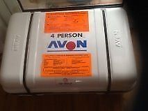 Avon 4 man cannister liferaft