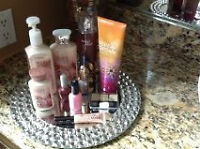 Assortment of beauty supplies