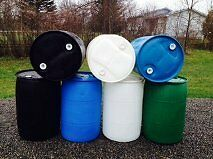 Plastic Dock Rain barrel -B