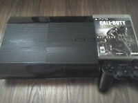 MINT CONDITION PS3 SLIM WITH GAMES