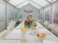 event tent for rent $150/wkend/no tax