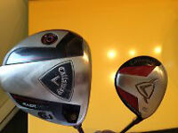 Callaway Driver and 3 Wood for Sale