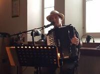 accordéoniste- chansonnier pour Restaurants et Occasions
