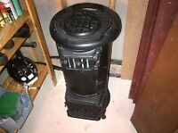 Collector Cast Iron Wood Burning Stove
