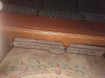 Solid  Antique, Maple  Coffee Table With Brass Accents!!! Kitchener / Waterloo Kitchener Area image 2