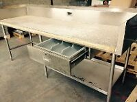 Price Reduced for Quick Sale! Restaurant Work Table