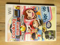 WII GAME - COOKING MAMA WORLD KITCHEN