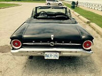 Just in time for sun 1963 falcon convertable