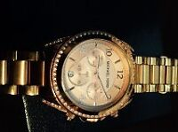 2 Michael Kors Watches (Rose Gold)