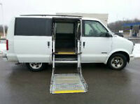 2001 Chevrolet Astro Wheelchair Accesible Minivan, Van