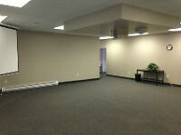Office, Boardroom and Conference space available