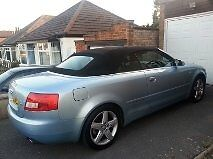 STUNNING A4 AUDI CONVERTABLE WITH BUILT IN SAT NAV