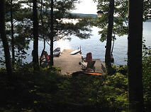 Family cottage for rent eastern side of lower Mazinaw Lake.
