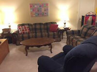 SOFA AND LOVESEAT, from non smoking home, very good condition!