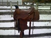OFFERS!! Alamo rope saddle, Texas made