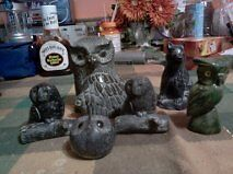 SCULPTURES BY WOLF 17 TOTAL 4 MORE SOAPSTONE $300 O.B.O Windsor Region Ontario image 2