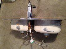 Lavabo de cuisine (Kitchen sink)