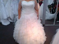 NEW PRICE - Beautiful Callista Wedding Dress