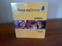 Rosetta Stone Spanish Latin American. ( 5 LEVEL ) NEUF !!