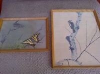 25 Wooden Frames with Glass