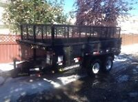 SIDE EXTENSIONS FOR TRAILER 14X7