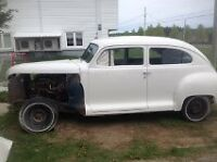 1948 PLYMOUTH 6000$ NEG OR TRADE FOR NICE SLED OR NICE TOY