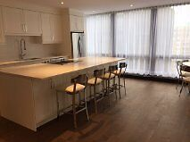 1070 sq feet  Luxurious 3 1/2 at the WESTMOUNT SQUARE 18th floor