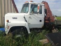 1993 Ford F7000 Knuckle Boom