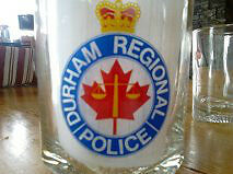 Durham Regional Police Cocktail Glass Set Peterborough Peterborough Area image 2