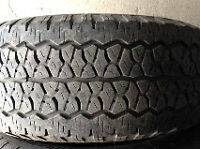 4 pneus été 275/65R18 Bfgoodrich & 3x Goodyear