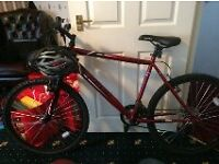 Apollo Feuds Mens Mountain Bike Used twice .Store Built Steel Frame. FREE HEMET
