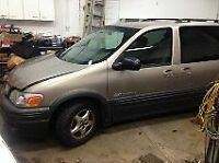 2004 pontiac montana for sale/or parts